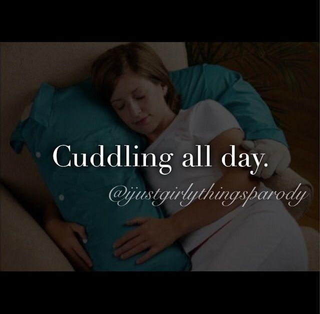 Ah cuddling!