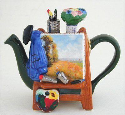 I'm sure Monet drank tea. www.missdinkles.com
