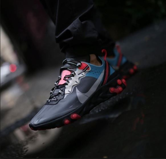 Habitat golf Delgado  Nike React Element 87 Blue Chill Solar Red 10 Confirmed #fashion #clothing  #shoes #accessories #mensshoes #athleticshoes (ebay link) | Nike, Athletic  shoes, Shoes