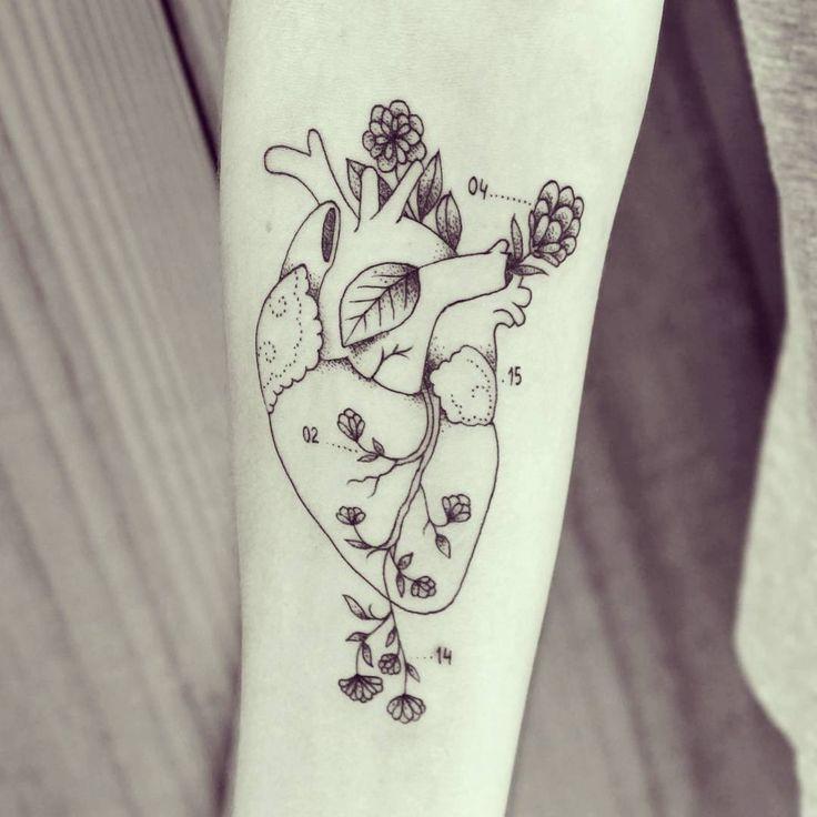 Coração da Gabi hoje! #ink #inked #tattoo #tattooist #blackworkers #tatuagem #draw #drawing #desenho #ilustracao #illustrator #bh #belohorizonte