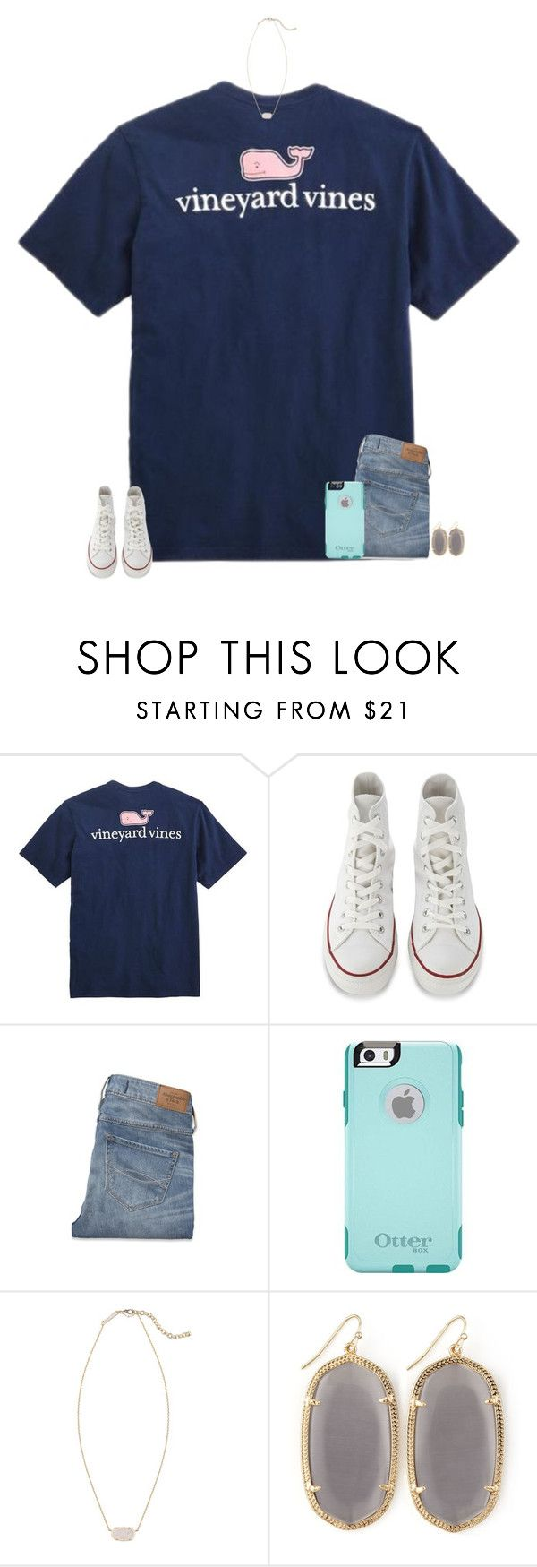 """TAYLORS NEW VIDEO IN 3 MINUTES"" by secfashion13 ❤ liked on Polyvore featuring Vineyard Vines, Converse, Abercrombie & Fitch, OtterBox and Kendra Scott"