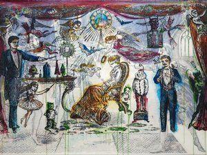 The Illusionist (2007), Sigmar Polke