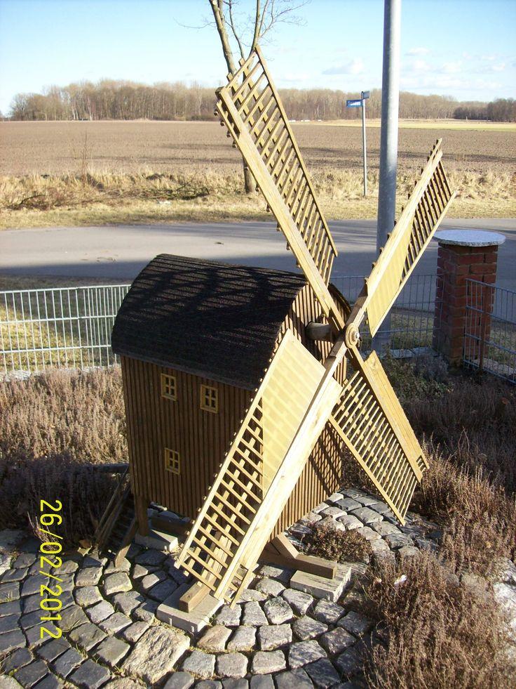Gartenwindmühle 2 Bauanleitung zum selber bauen