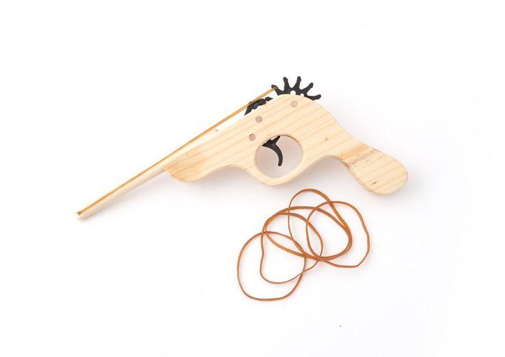 Rubber Band Gun elastiek pistool - Gadgets bij Mijn Producten
