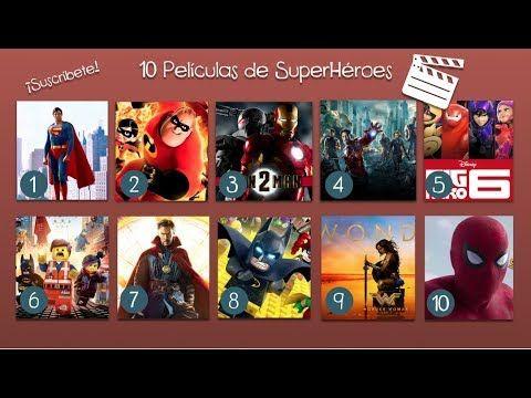 Top 10 Películas de SuperHéroes