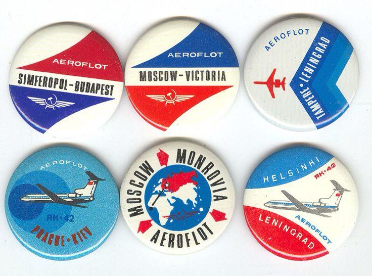 Aeroflot badges