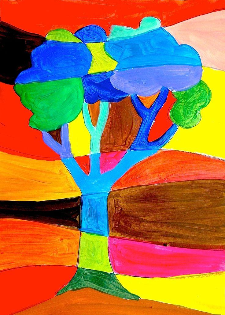 Ho pensato ad alcune nuove idee da proporre agli alunni per realizzare dei dipinti a colori caldi e freddi. Nella prima fase si realizzano i disegni a matita e poi si dipingono cercando di trovare ...