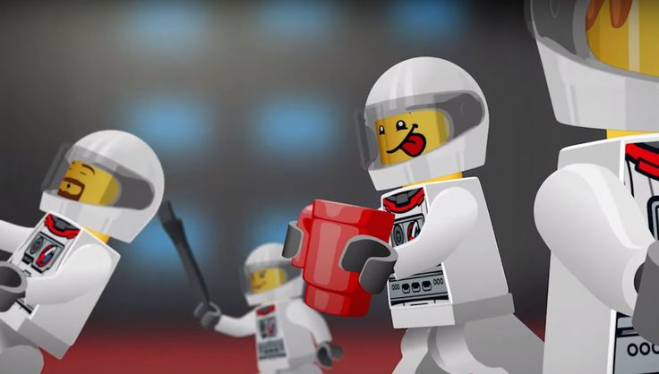 LEGO® CITY Space -  In Space No One Can Hear You Snore Mini Movie (2D)