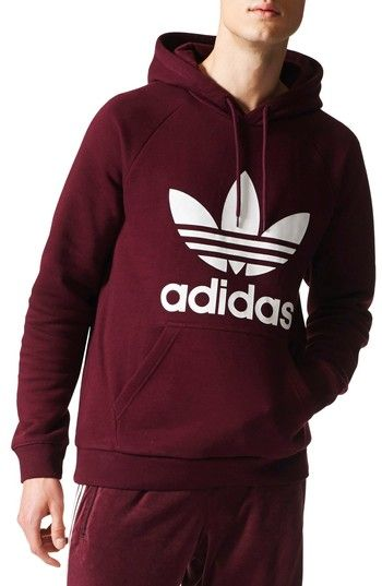 best website offer discounts uk store ADIDAS ORIGINALS ORIGINAL TREFOIL GRAPHIC HOODIE ...