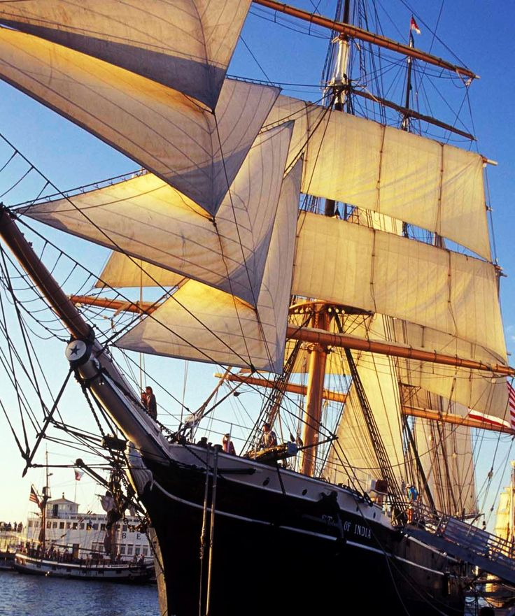 The Star of India, Maritime Museum of San Diego, 1492 North Harbor Drive  San Diego, CA 92101
