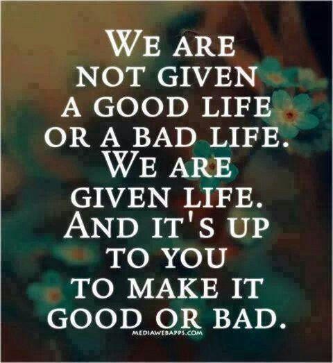 Good Life Bad Life