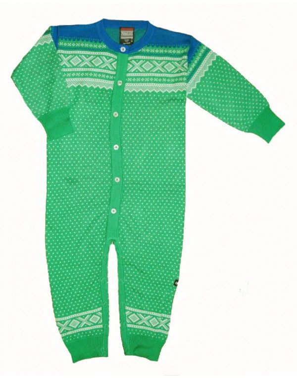 Ugly Childrens Clothing Jumpsuit grønn