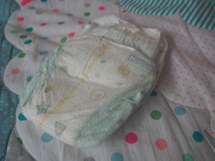 A tiny tiny newborn nappy