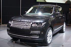 Jason St. John aka Agent Jason Stone drives one of these in MEASURE OF A MAN. Geneva MotorShow 2013 - Land Rover Range