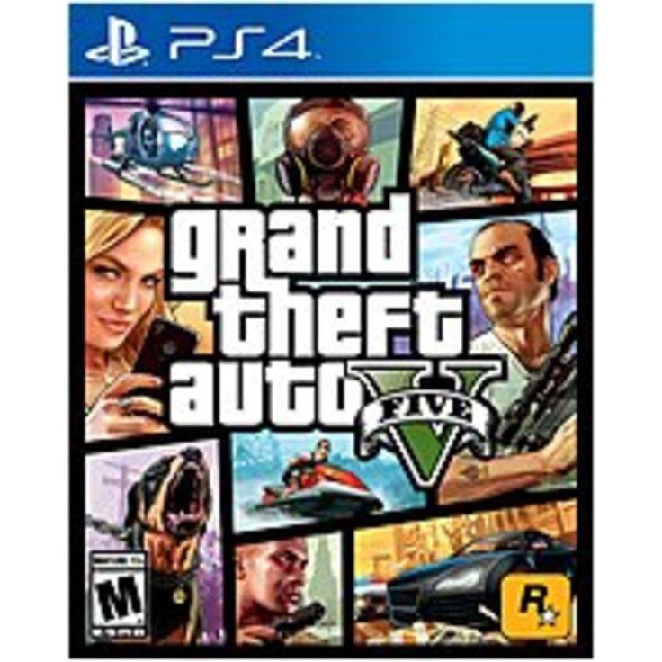 Rockstar Games 710425475252 47525 Grand Theft Auto V - PlayStation 4