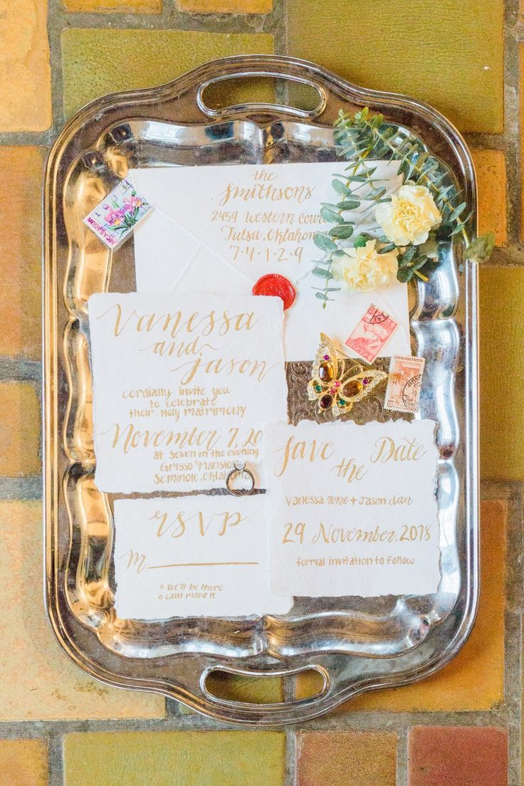 how long does it take to get wedding invitations made%0A How To Have A Rustic Italian Fall Wedding In The Heart Of Oklahoma