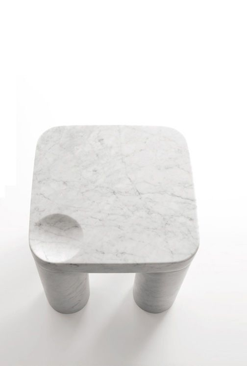 Poodle Low Table by Naoto Fukasawa 3