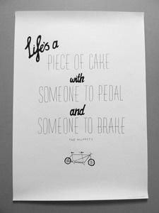 Life's a piece of cake...