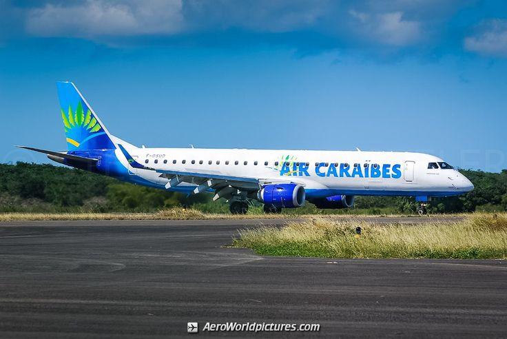 F-OSUD Air Caraibes Embraer ERJ-190LR (ERJ-190-100 LR) - cn 19000130