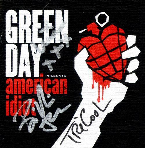 Signed American Idiot album I want it I want it I want it!!!!!!!!!