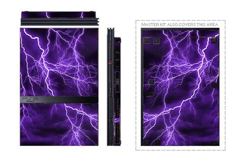 Apocalypse Violet Design Decal Skin Sticker for Sony Playstation 2 PS2 Slim Matte Satin ** For more information, visit image link.Note:It is affiliate link to Amazon. #newyork