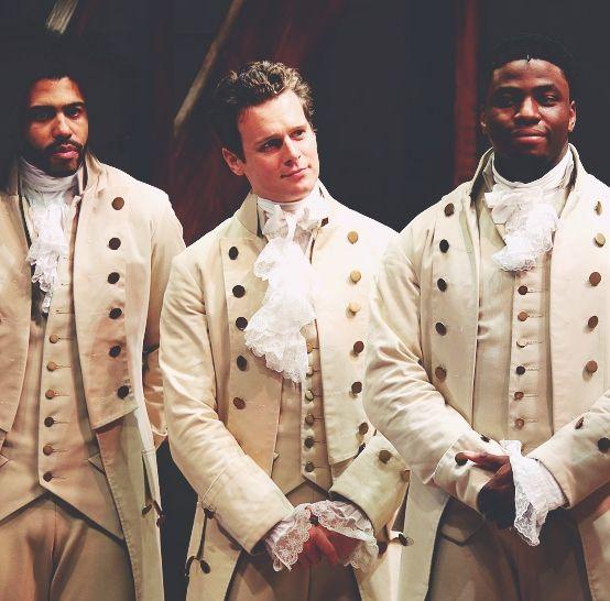 Lafayette/Jefferson, King George, & Mulligan/Madison yesss || Hamilton