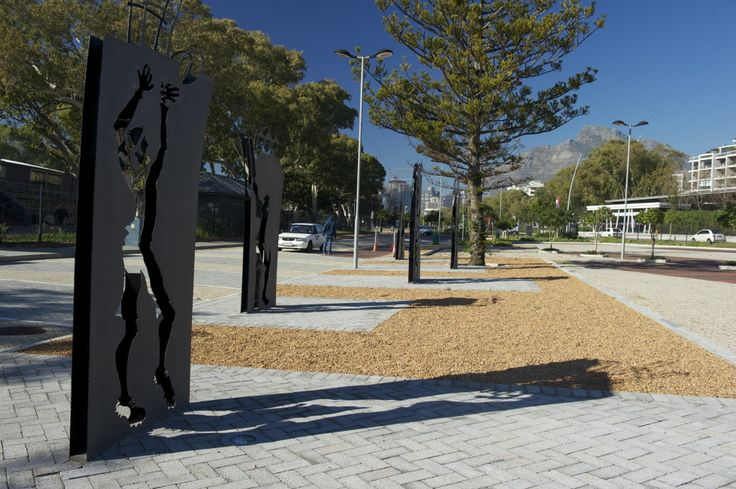 Memorialization of Greenpoint Track - Artvark: Theresa Jo and CP Wessels