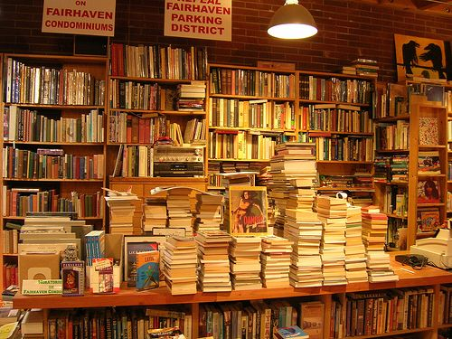 Eclipse Bookstore Bellingham, WA (in the Fairhaven district of town). Full of all kinds of treasures!