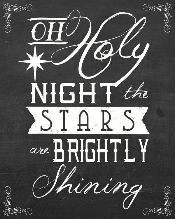 Free Christmas Songs Printable Art
