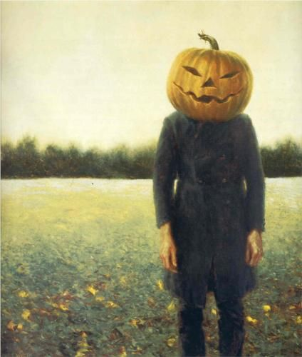Pumpkinhead - Self-Portrait - Jamie Wyeth