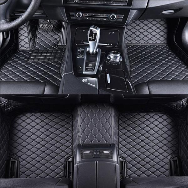Car Interior Protection From Wear And Tear Has Never Been So Stylish These Luxury Mats Will Completely Custom Car Floor Mats Car Floor Mats Volkswagen Phaeton