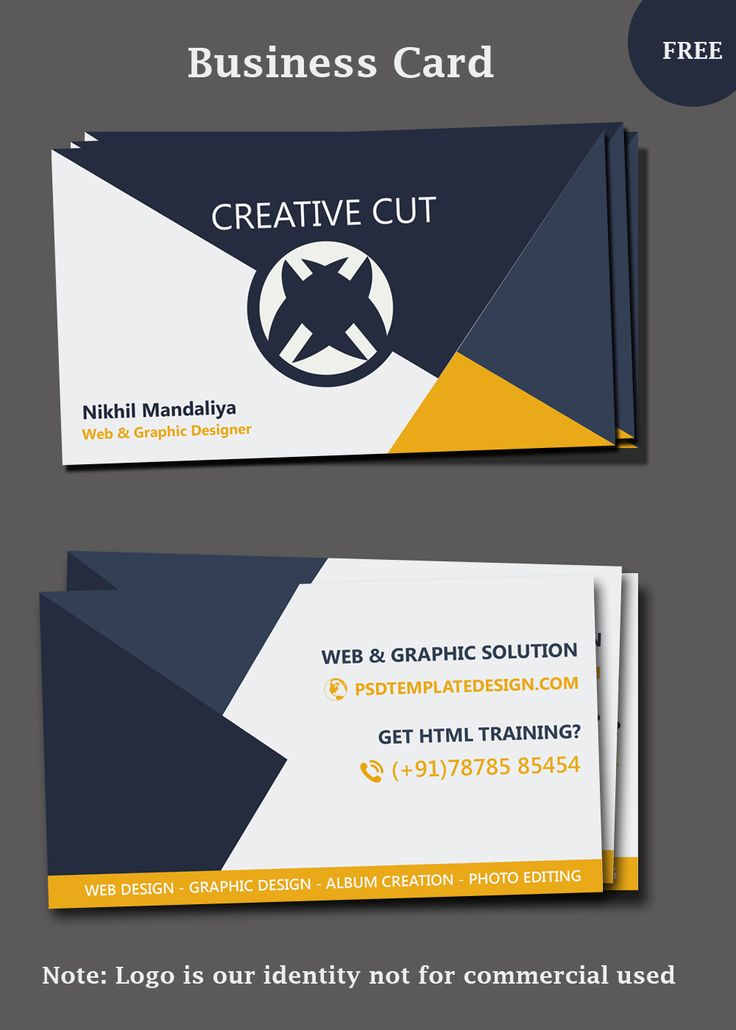 Best Business Card Templates Images On Pinterest Business - Business card design templates