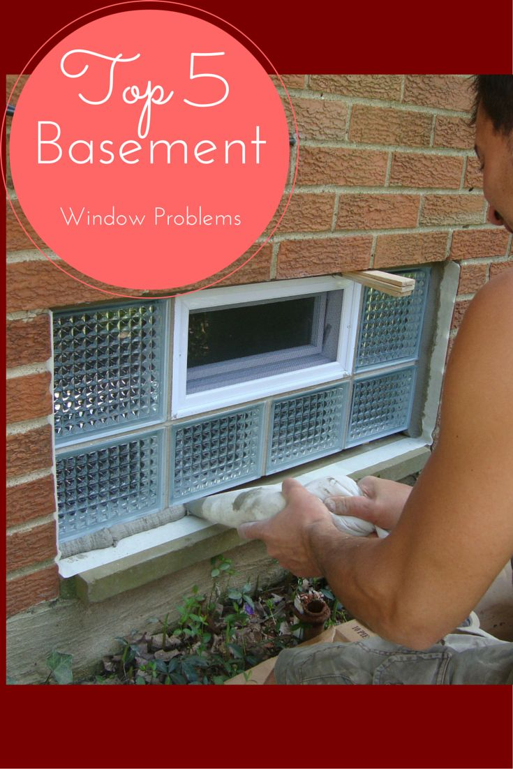Learn the top 5 Problems with Basement  Windows and how to solve them - http://blog.innovatebuildingsolutions.com/2015/06/13/fix-top-5-basement-window-problems/