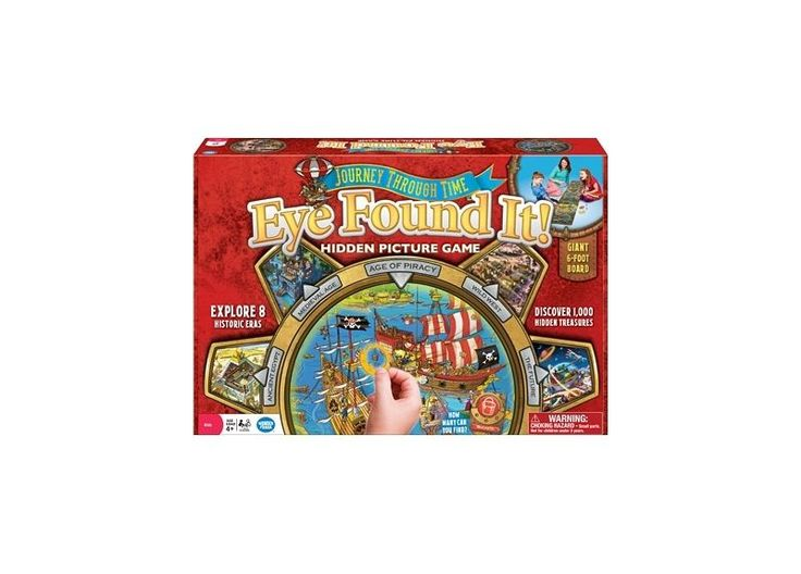 Eye Found It! Journey Through Time Hidden Picture Game WONDERFORGE #Wonderforge