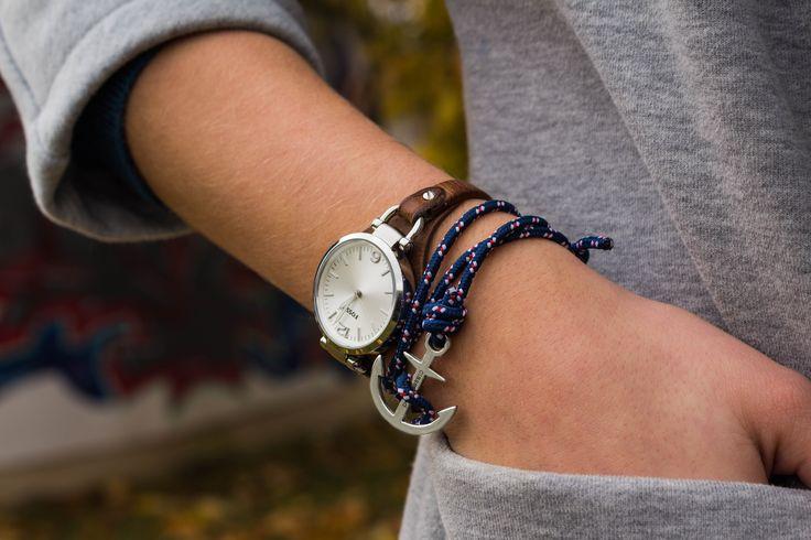 Anker Armband von Classygood jetzt auf www.classygood.com erhältlich. Entdecke unsere Herbst Kollektion. -be classy be good  #classygood #anker #armband #ankerarmband #schmuck #accessoires #accessories #uhr #fossil #goodlife #natur #jewelry