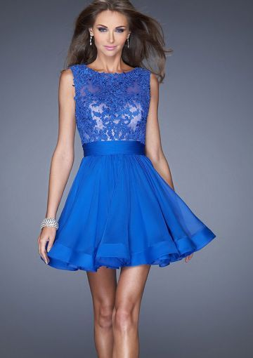 17 best ideas about Royal Blue Short Dress on Pinterest ...