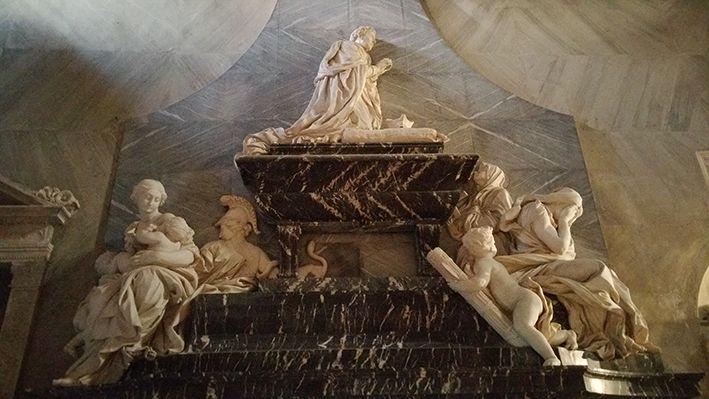 tomba del Cardinale Pimentel  1653