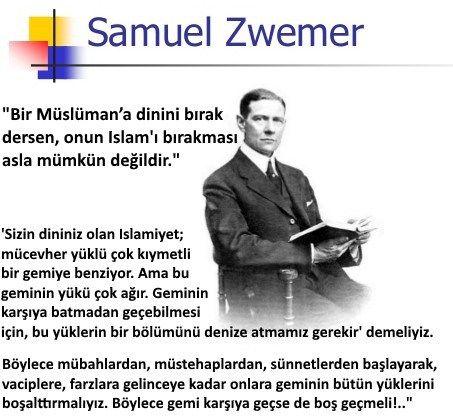 Misyoner, Papaz Samuel Zwemer'den Müslümanları dinden koparmanın taktiği | Belgelerle Gerçek Tarih