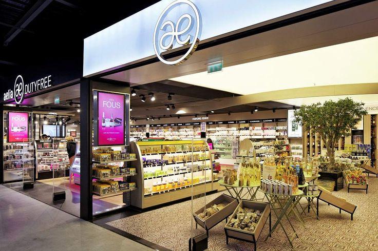 Agencement boutiques aéroport | Mobilier spécifique | Mobilier Provence Aelia