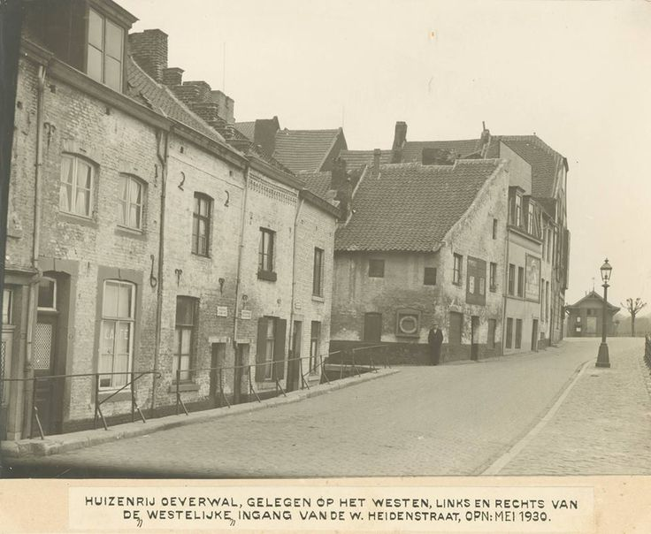 Oeverwal in Mestreech 1930