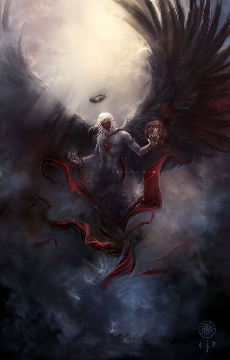 The Dark by ~LadyOwl on deviantART