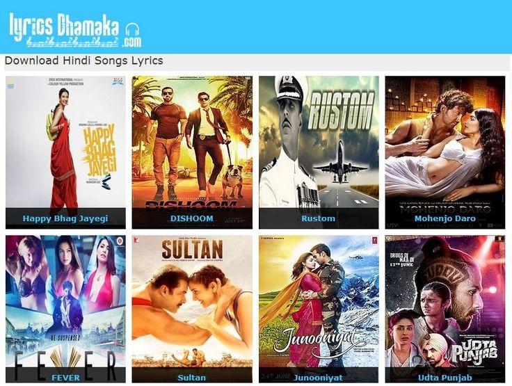 hindi song  website name