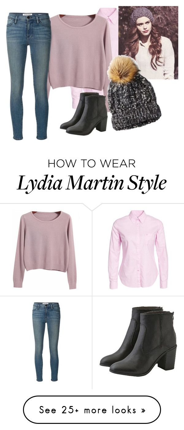 """Holland Roden"" by tynestar on Polyvore featuring Morris, Chicnova Fashion, American Eagle Outfitters and Frame Denim"