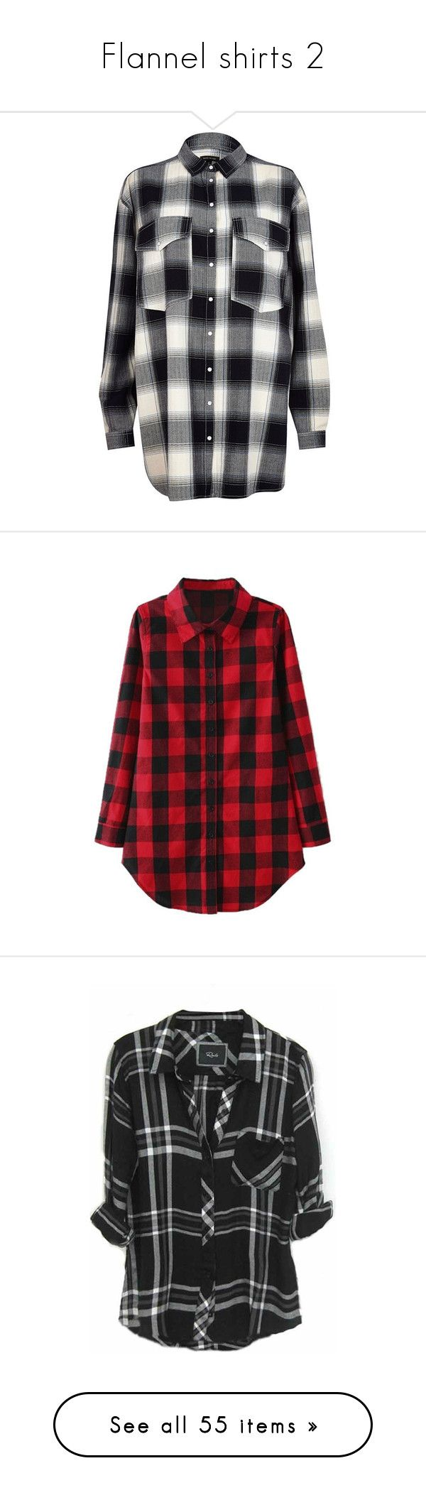 """""""Flannel shirts 2"""" by musicmelody1 ❤ liked on Polyvore featuring tops, shirts, flannel, river island, sale, over sized shirts, oversized tops, shirt top, oversized shirt and long sleeves"""