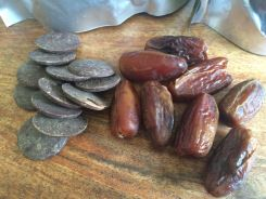 100% cacao and organic dates make a fantastic clean snack