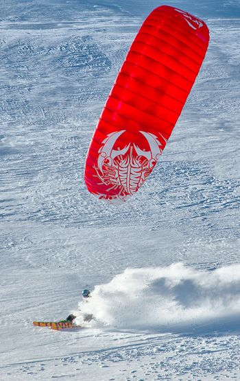HQ Montana 9 IX Depower Kite Depowerable Snowkiting Landboarding Power Kites Buggy Mountainboarding Safety Gear Powerkiteshop UK Equipment