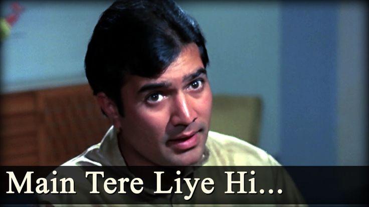 Anand - Maine Tere Liye Hi Saat Rang Ke - Mukesh - Rajesh Khanna