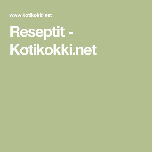 Reseptit - Kotikokki.net