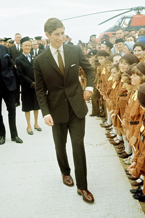 Young And Bespoken. Prince Charles, 1969.