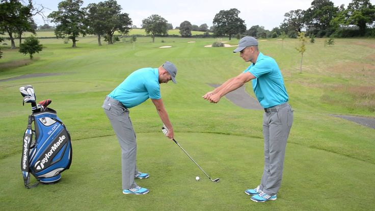 How far away should you stand from the golf ball? | Posture Drill